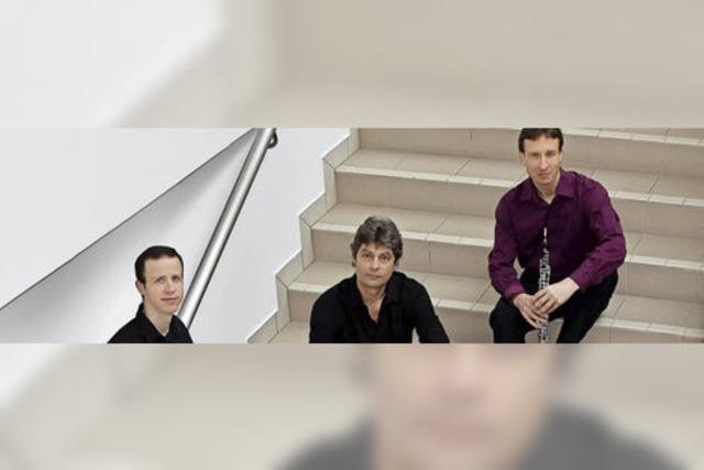 Das Trio SurPlus konzertiert im Freiburger E-Werk