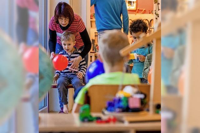 Kindergarten moderat teurer