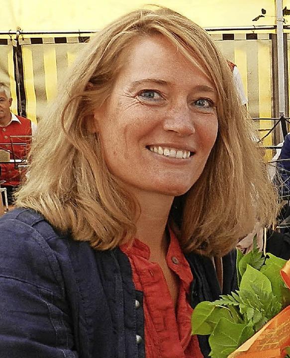 Tanja Steinebrunner ist seit  2013 Bürgermeisterin in Fröhnd.  | Foto: Gerhard Wiezel