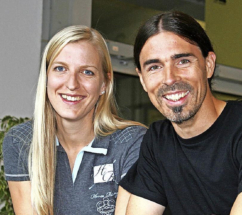 Thomas Haug war der erste Schulsoziala...egin Katharina Hummelbrumm zur Seite.   | Foto: Schule
