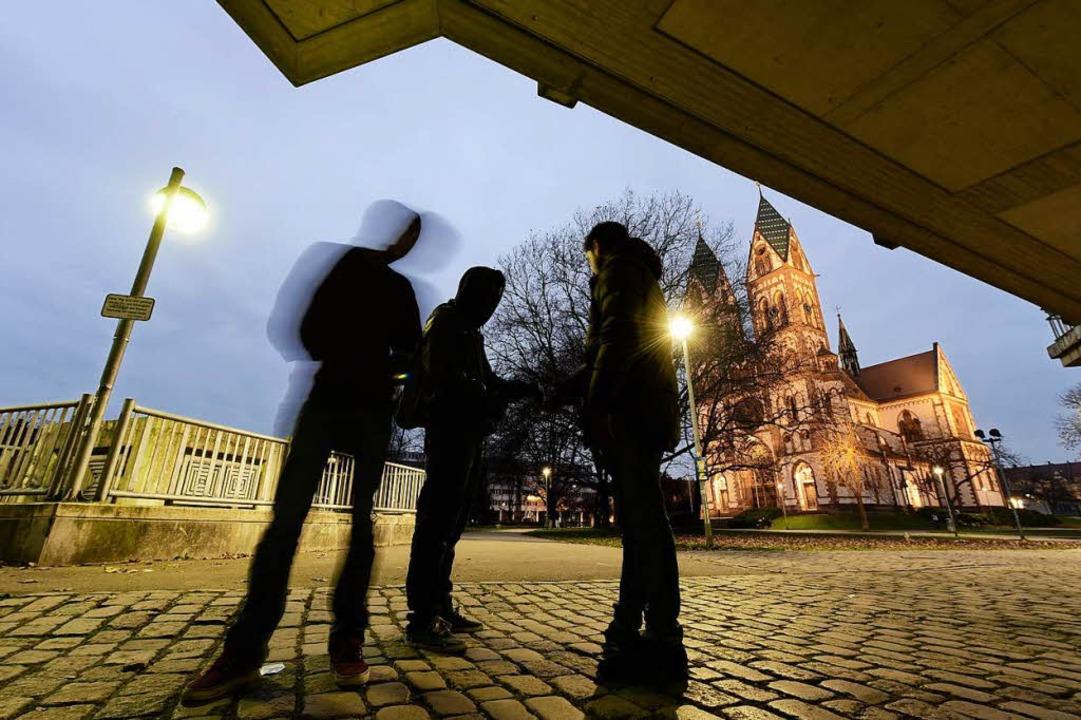 Die Polizei zeigt mehr Präsenz in der ...d für den Rückgang der Straftaten ist?  | Foto: Thomas Kunz