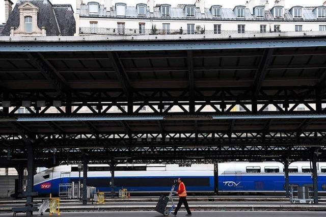 Südwest-Züge fahren trotz Streiks in Frankreich