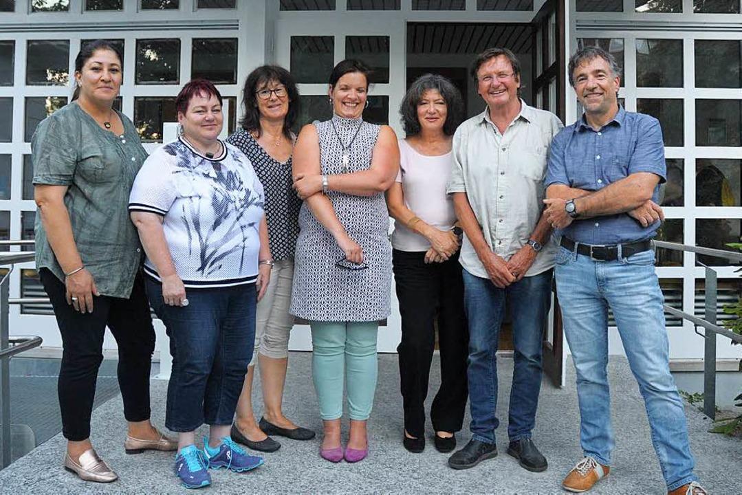 Der Stadtteilverein Friedlingen wird g...n, Manfred Grupp und Volker Hentschel.  | Foto: Regine Ounas-Kräusel