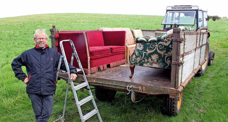 Aufsteigen bitte – und vom Sofa aus die Fahrt genießen.  | Foto: Bernd F. Meier