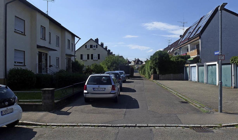 Die ehemalige Uhlandstraße wurde zur Herlinstraße.    Foto: Klaus Brandwein