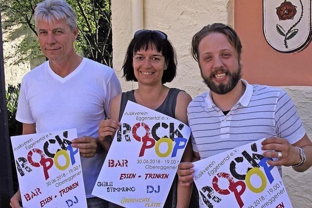 Rock und Pop statt Dorffest
