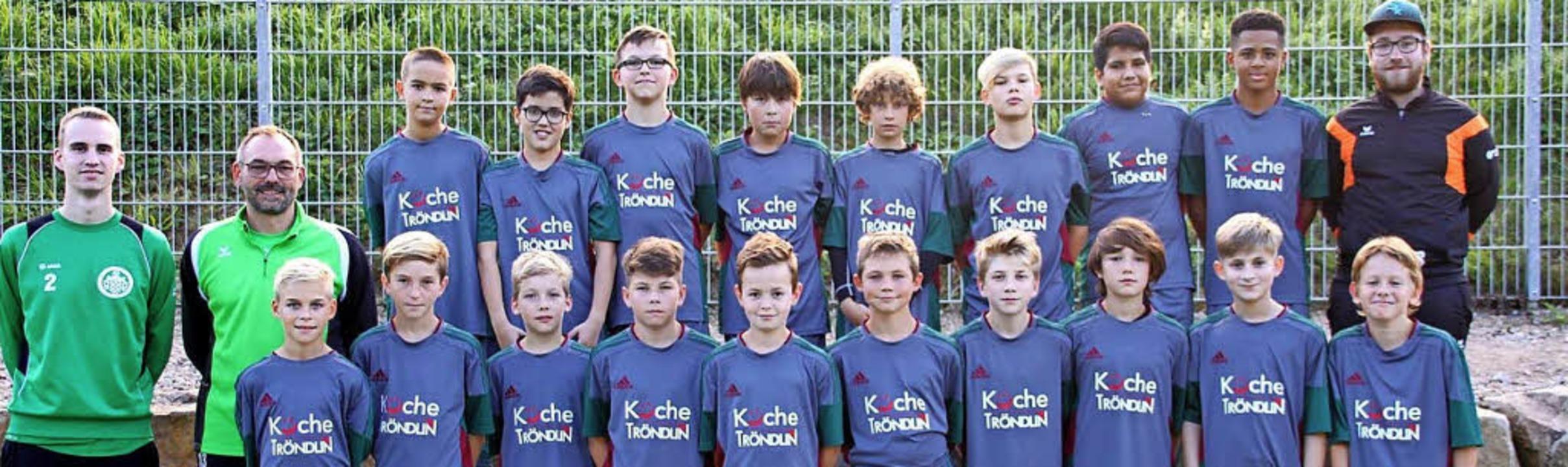 <BZ-FotoAnlauf>FC Kandern</BZ-FotoAnla...schaft mit Liel und Malsburg-Marzell.   | Foto: Ranft