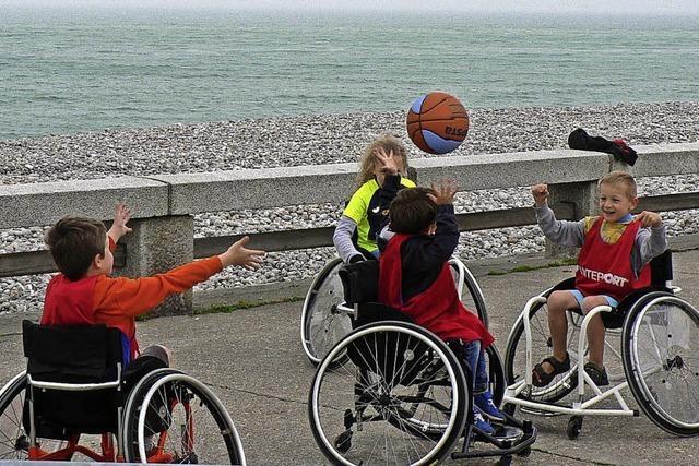 Sport für alle, auch für Menschen mit Behinderung