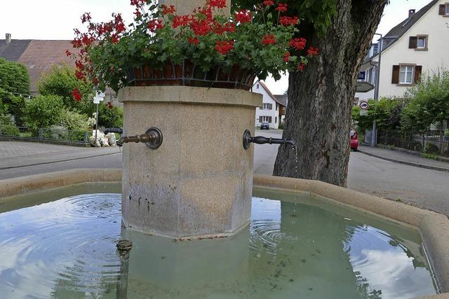 Die Brunnen laufen wieder