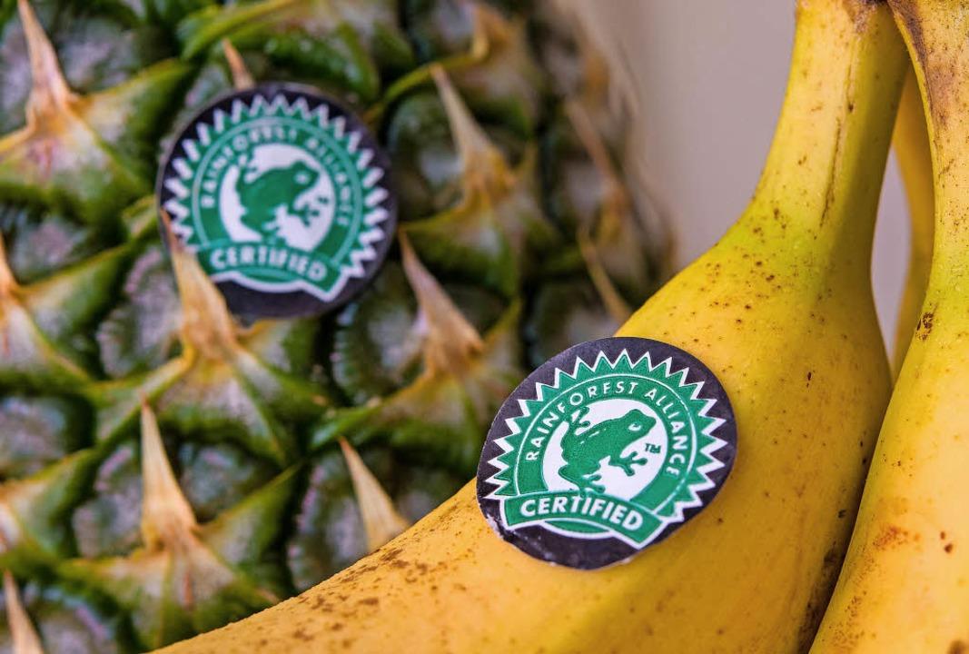 Dieses Siegel ist Oxfam zu schwach.    Foto: dpa