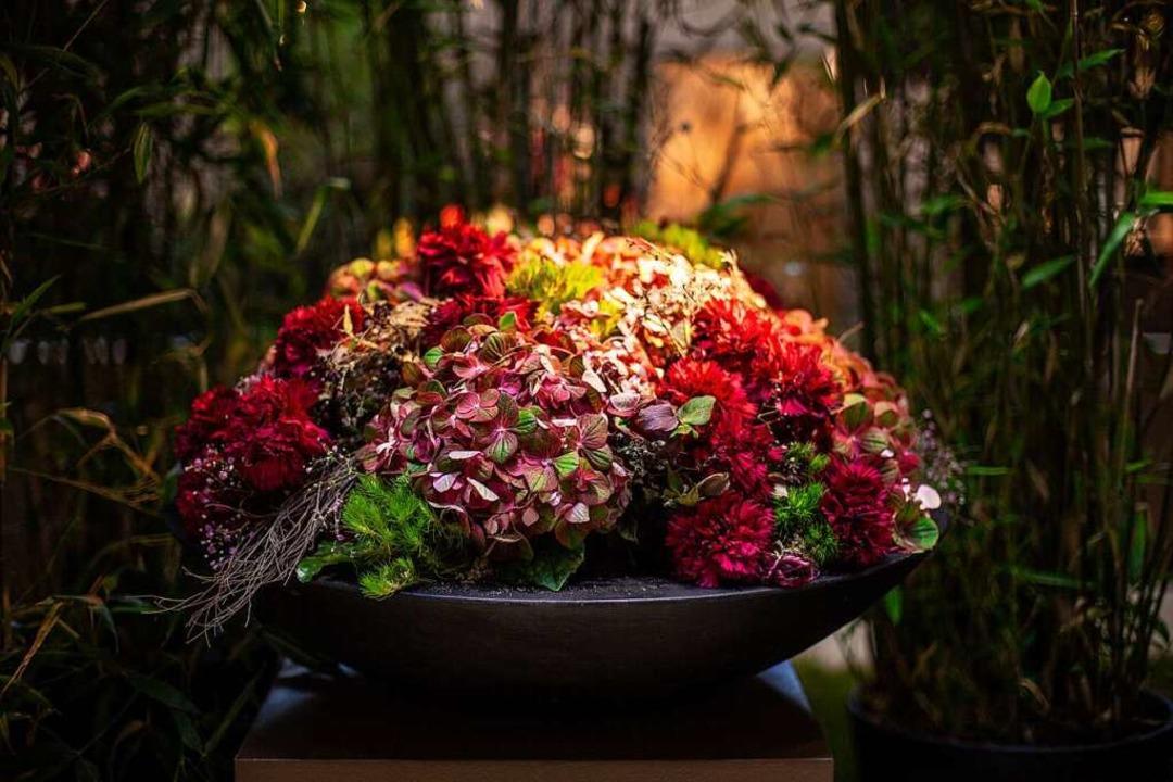 Die Blumenshows in der Blumenhalle zei...ie atemberaubendsten Blumenkreationen.  | Foto: LGS Lahr 2018 GmbH
