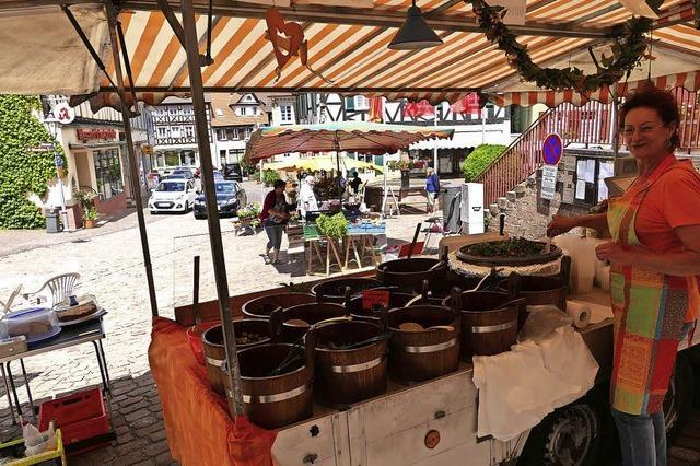Den Markt zieht's vor die Altstadt