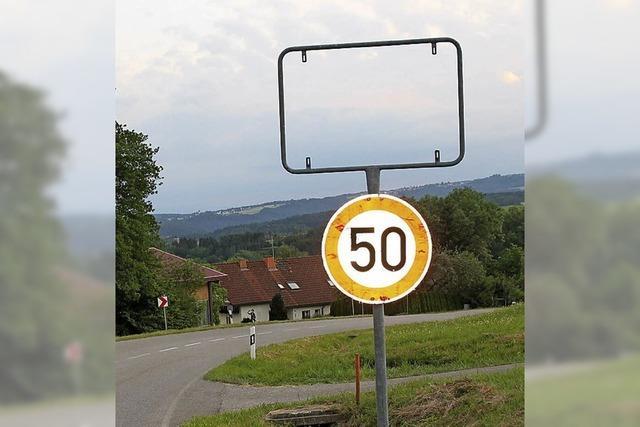 Namenloser Ort nahe Waldshut
