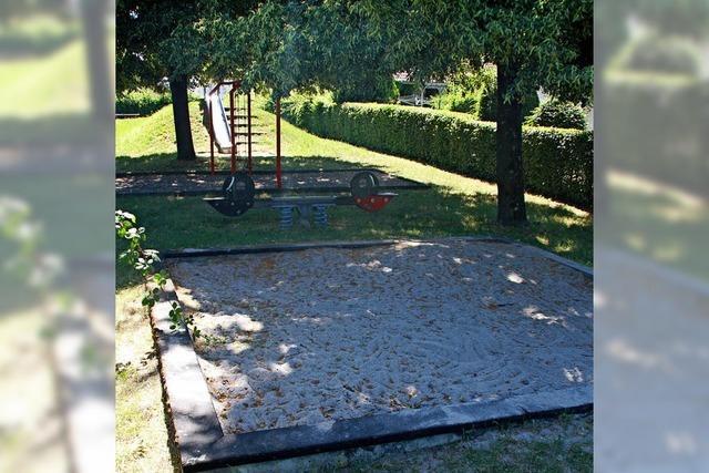 Spielplatz in Wallbach bleibt