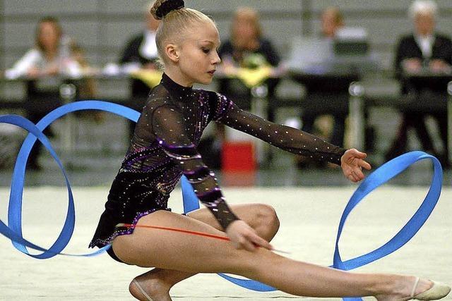 Badische Jugendbestkämpfe in der Rhythmischen Sportgymnastik finden am Samstag, 7., und Sonntag, 8. Juli, in der Rappensteinhalle in Laufenburg/Baden statt