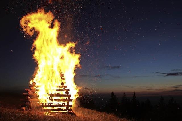Feuer und mehr am 23. Juni auf dem Kandel