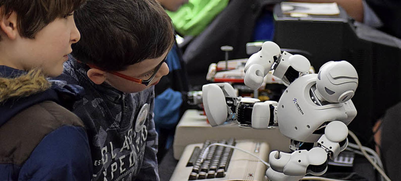 Im Temopolis findet ein Robotik-Workshop statt.   | Foto: Archivfoto: jtr