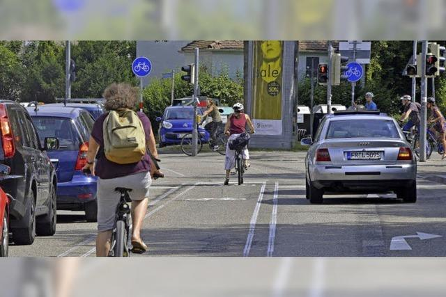 Neue Verkehrsführung