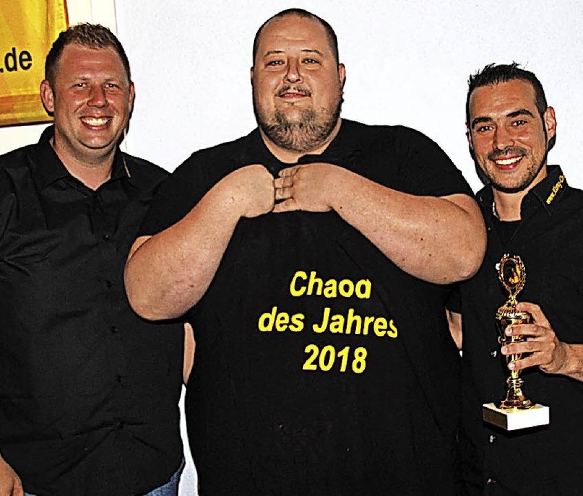 Tobias (Bomber) Barth ist Chaod des Ja...nd sein Stellvertreter Carsten Klotz.   | Foto: Schöneberg