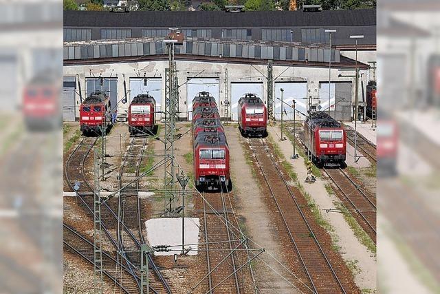 Neue Gleise für das BW in Haltingen