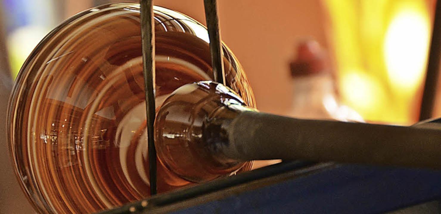 Glasherstellung war ein wichtiger Wirtschaftszweig.  | Foto: Tanja Bury