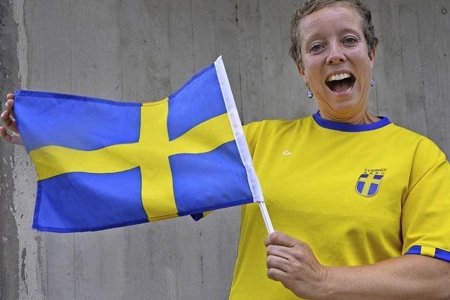 """Lotta Karlsson fühlt sich wie """"Billy"""" auf das Gruppenspiel gegen Deutschland"""