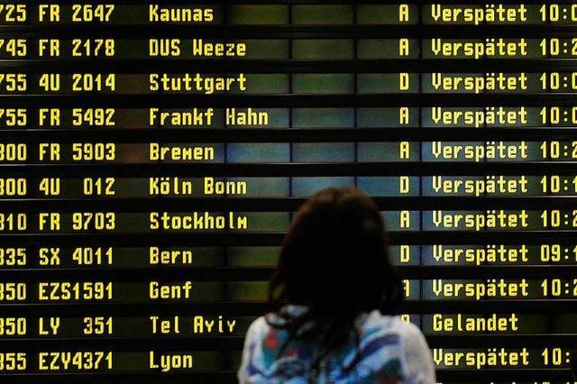 Immer mehr Flüge haben Verspätung