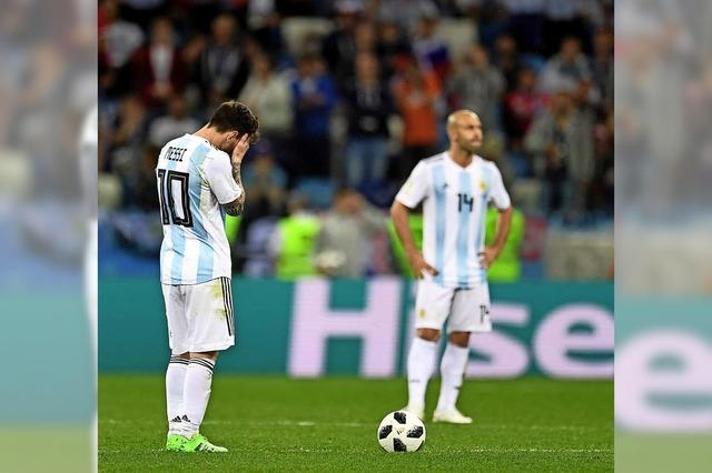 Was nun, Messi?