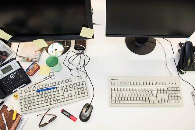 Aufgeräumter Schreibtisch, aufgeräumter Arbeitstag