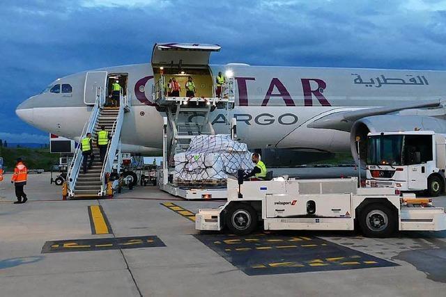 Am Euroairport Basel-Mulhouse hebt Pharma ab