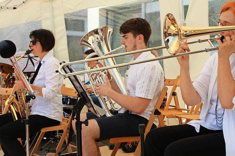 """Ein """"Fest der Musik"""" war die """"Fête de la Musique"""" in Steinen tatsächlich. (Foto: Anja Bertsch)"""