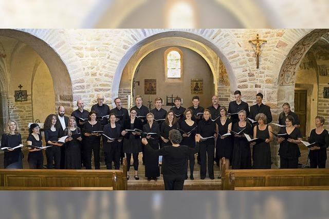 A-Capella Werke und Harfenstücke von Scarlatti und Dvorak