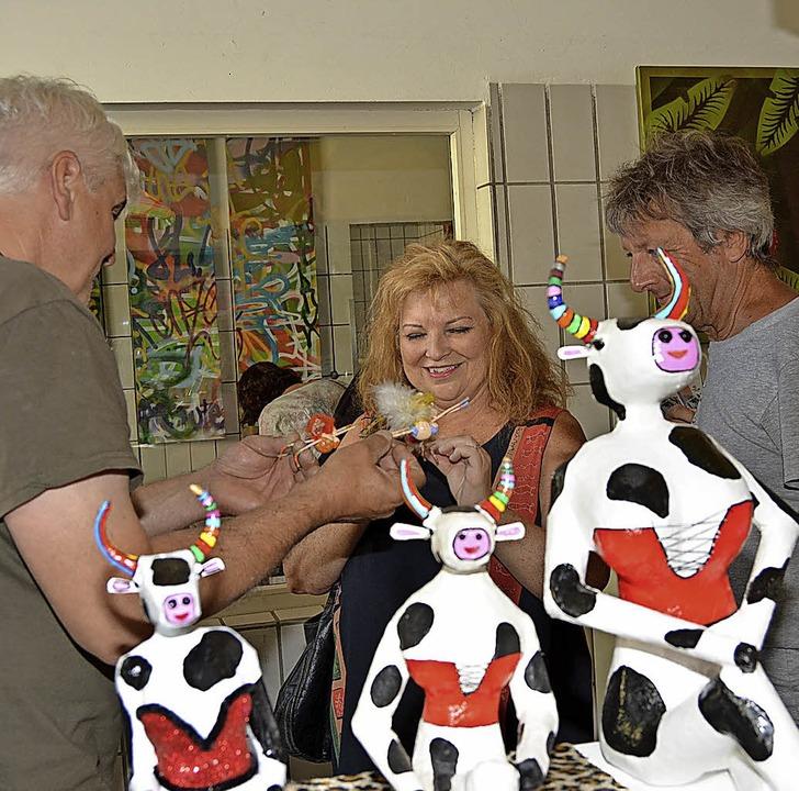 Zahlreiche Besucher schauten im St. Jo...ihren vielen kreativen Hilfsangeboten.  | Foto: Danielle Hirschberger