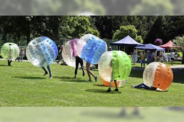 Viele coole Aktionen im Stadtgarten