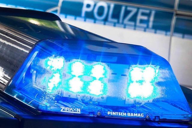 Alkoholisierter Radfahrer stürzt und beleidigt Polizisten