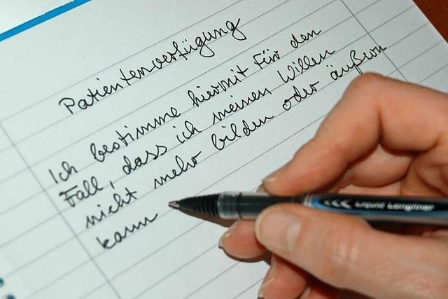 Wie sich Deutsche mit einer Patientenverfügung absichern können