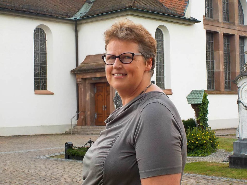 Gemeindereferentin Barbara Heimpel gib...eit in der Seelsorgeeinheit Wehr auf.   | Foto: Hrvoje Miloslavic