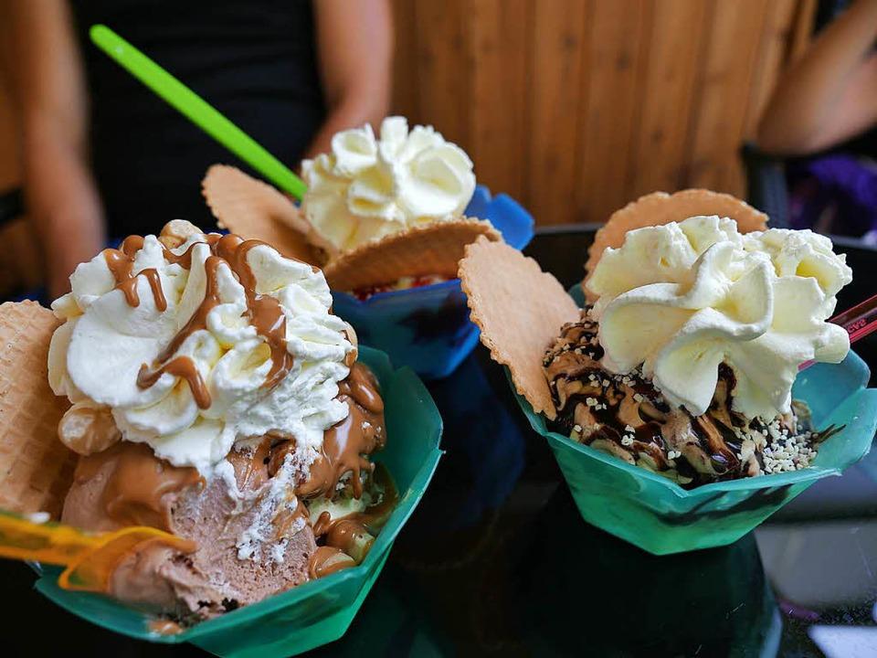 Eisbecher aus dem Cream Garden  Letizia.  | Foto: Annalina Ebert