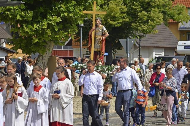 Fest zu Ehren des Heiligen Achatius