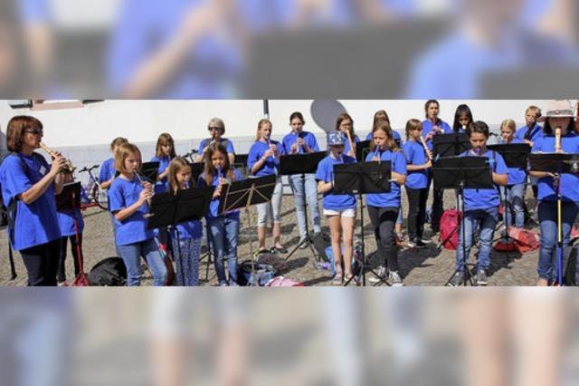 Musikschüler spielen