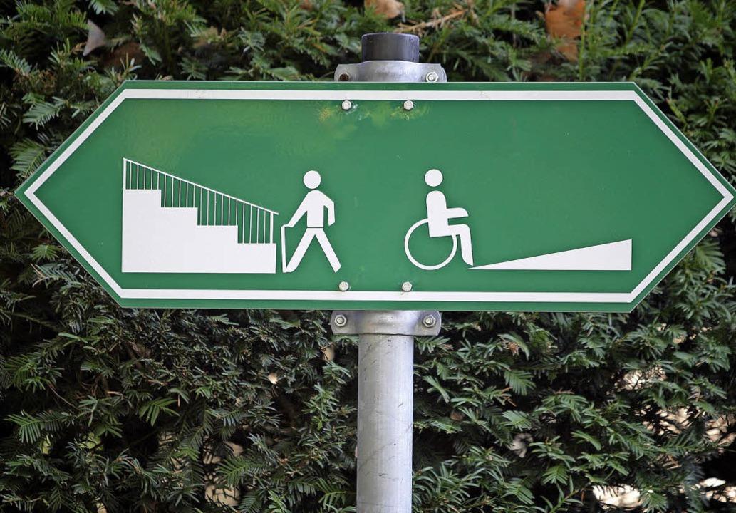 Inklusion bedeutet weit mehr als behindertengerechte Aufgänge zu schaffen.  | Foto: Symbolbild: dpa