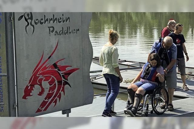Drachenboot statt Rollstuhl