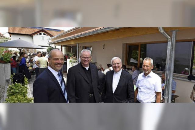 Die katholische Gemeinde Freiburg-Tuniberg hat ein neues Pfarrzentrum