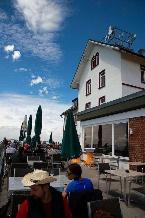 Schöne Atmosphäre, toller Ausblick –  das Berghaus Hochblauen   | Foto: mps