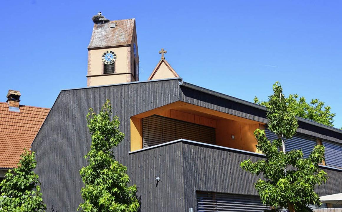 Alt und Neu harmonieren perfekt beim P...orischer Gutshof in Efringen-Kirchen.   | Foto: Annette Mahro