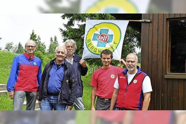 Die Renovierung der Bergwachthütte steht bevor