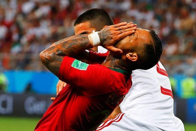Portugal verspielt Sieg gegen Iran in der Nachspielzeit