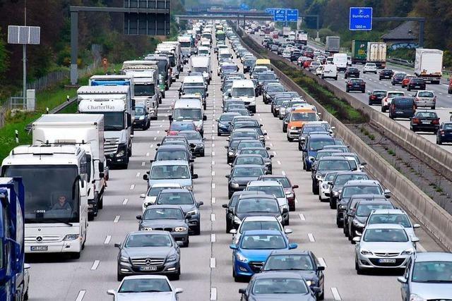 Start der Sommerferien – Warnung vor mehr Staus auf Autobahnen im Südwesten