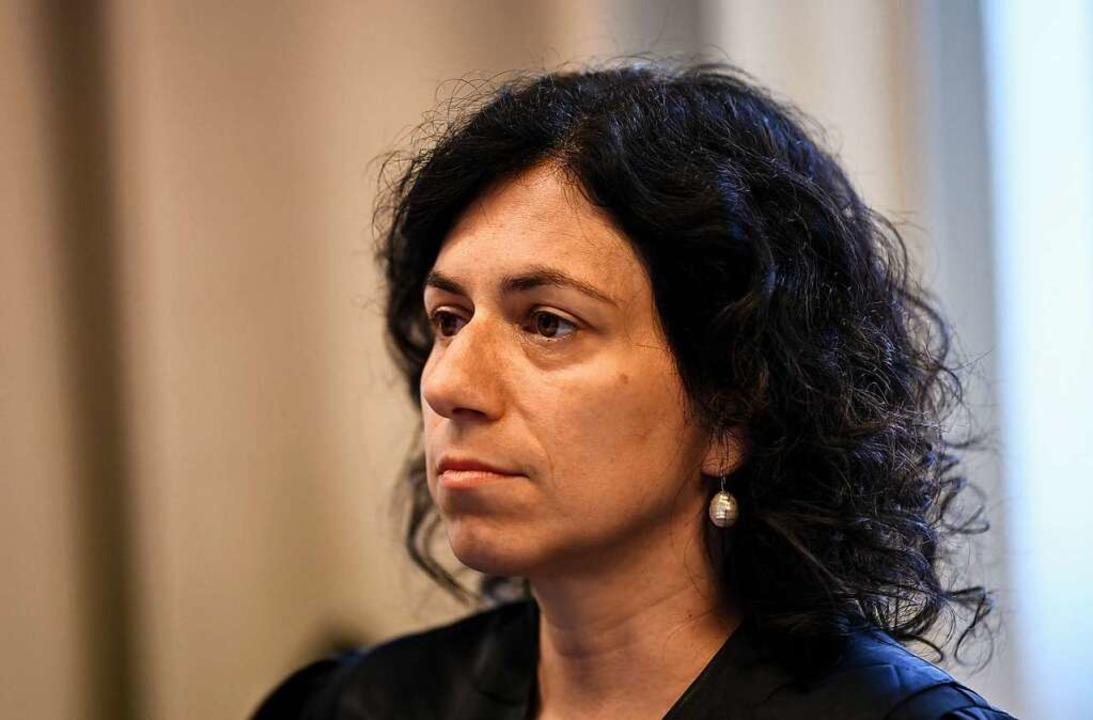 Rechtsanwältin Katja Ravat vertritt im...essen der beiden missbrauchten Kinder.  | Foto: dpa