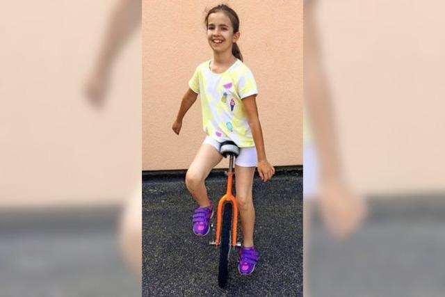 Einrad fahren – ein toller Sport
